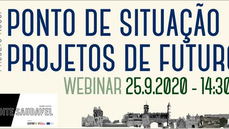 25.9.2020 | webinar NSCCP – Ponto de situação – Projetos de futuro