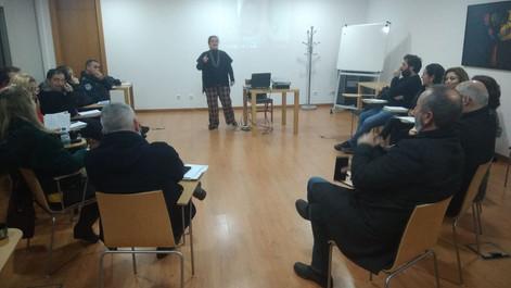 """16.1.2020   Sessão de divulgação do subprojeto """"Cap. Prof. Estab. Duv. Noturna - Nazaré"""
