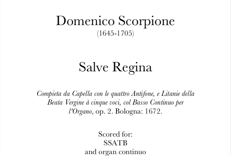 Scorpione - Salve Regina. Digital Download.