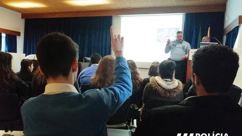 13.2.2020 | Sessão esclarecimento - Polícia de Segurança Pública, Escola de Hotelaria de Coimbra