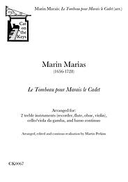 Marais - Le Tombeau pour Marais le Cadet (arr.). Digital Download