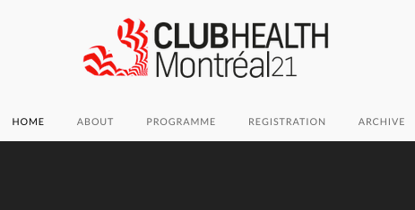 14.7.2020 | Lançamento da 12.ª Conferência ClubHealth Montreal21