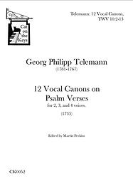 Telemann - 12 Vocal Canons