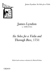 Lyndon: 6 Solos for a Violin. Digital Download