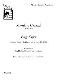 Cazzati - Pange lingua. Digital Download.