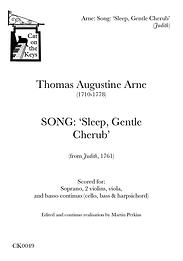 Arne - Sleep, Gentle Cherub. Digital Download