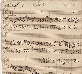 Backing Track - Bach: Flute Sonata in E-flat BWV1031