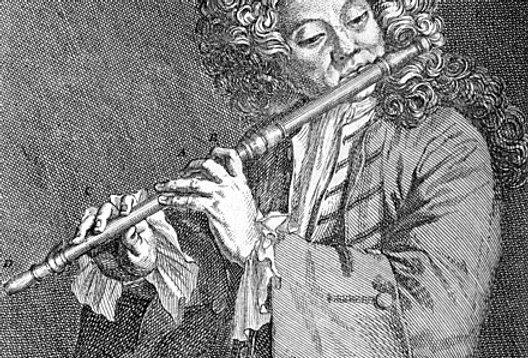 Hotteterre – Flute Sonata in E minor, op. 2, no.4 (A=392)