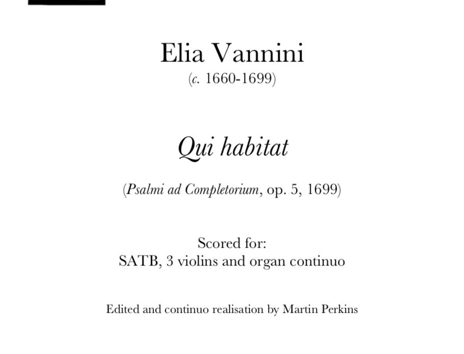 Vannini - Qui Habitat. Digital Download