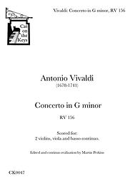 Vivaldi - Concerto in G minor, RV156. Digital Download.