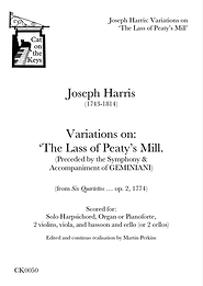 Harris - Variations on The Lass of Peaty's Mill. Digital Download.