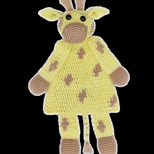 Knuffeldoekje Giraffe