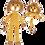 Thumbnail: Set - Leeuwen Knuffel en Rammelaar