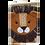 Thumbnail: Wanddecoratie Leeuw