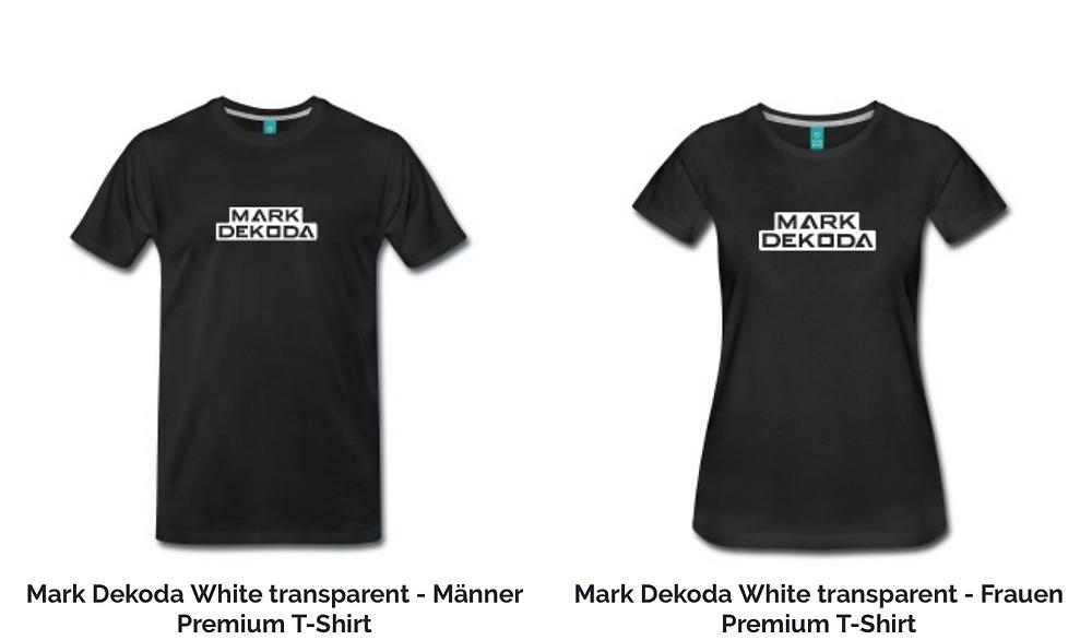 Mark Dekoda merchandise