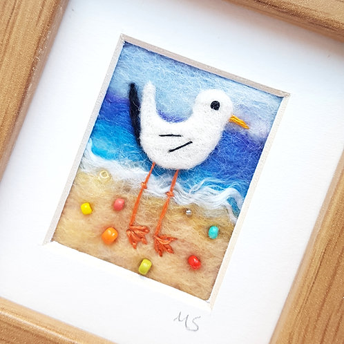 Miniature Felted Gull