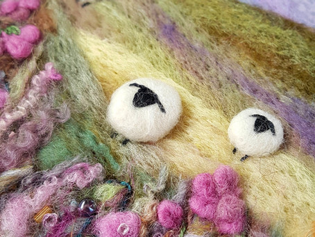 3 Needle Felting Tips to Make Your Artwork Look Professional