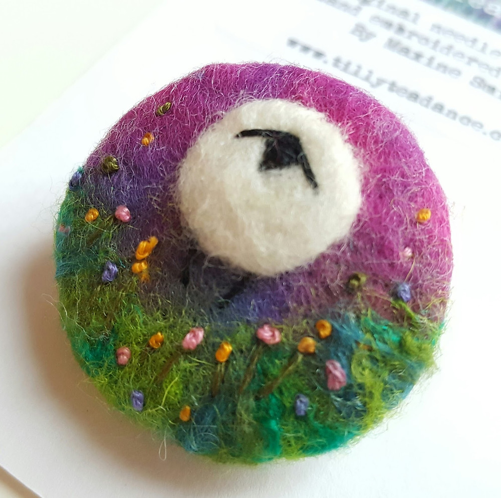 Pertunia Sheep Brooch - Tilly Tea Dance