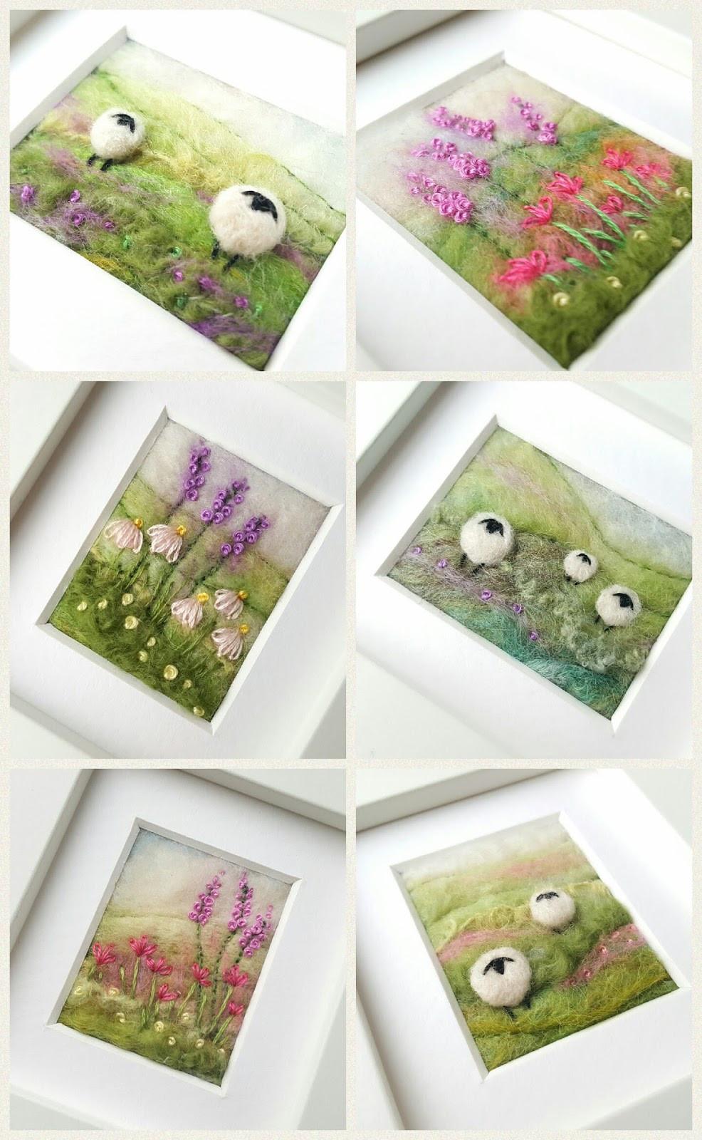 tilly tea dance - Felted sheep images
