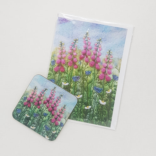 Coaster and Gift Card set