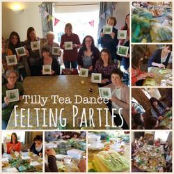 Tilly Tea Dance Felting Party