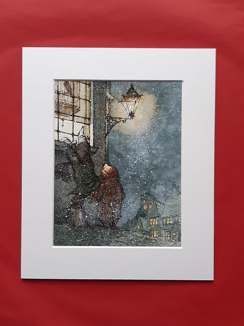 Wind in the Willows 'Dulce Domum' Mounted Fine Art  Print