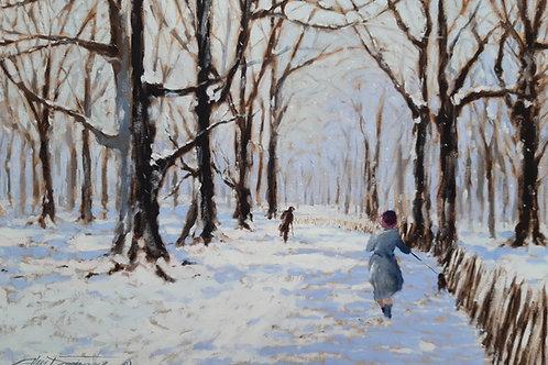 'Winter Walk' Fine Art Print