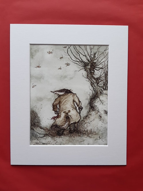 Wind in the Willows 'Any Friend of Mine' Mounted Fine Art Print