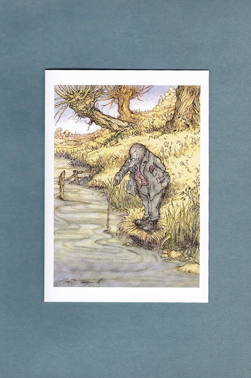 "Wind in the Willows 'So This Is A River' Greeting/ Birthday Card 5"" x 7"""
