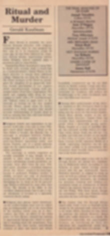 The Listener, London, Feb. 1989