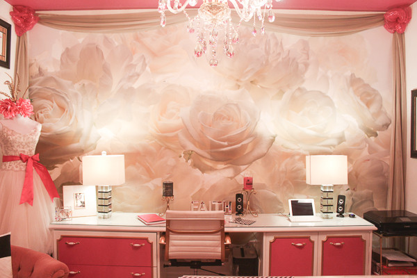 A DIY office so magical, a brand was born!