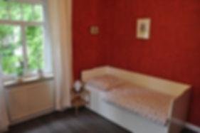 Die beiden Kojenbett lassen sich jeweils zum Doppelbett erweitern, so dass hier vier Personen schlafen können.