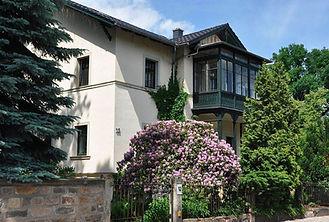 Fereinwohnung im Erdgeschoss der Villa Reger in Dresdens Villenviertel Blasewitz