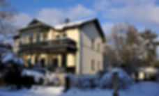 Villa Reger im Winter