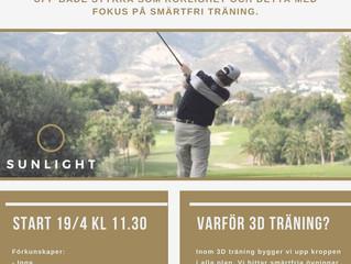 3D Träning för Golfare