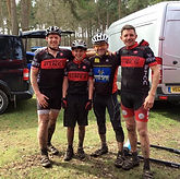 Sherwood Pines Club Members taking part in a Midlands XC event