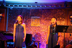 Cristina Faicco Hall and Lynn Masako Cheng