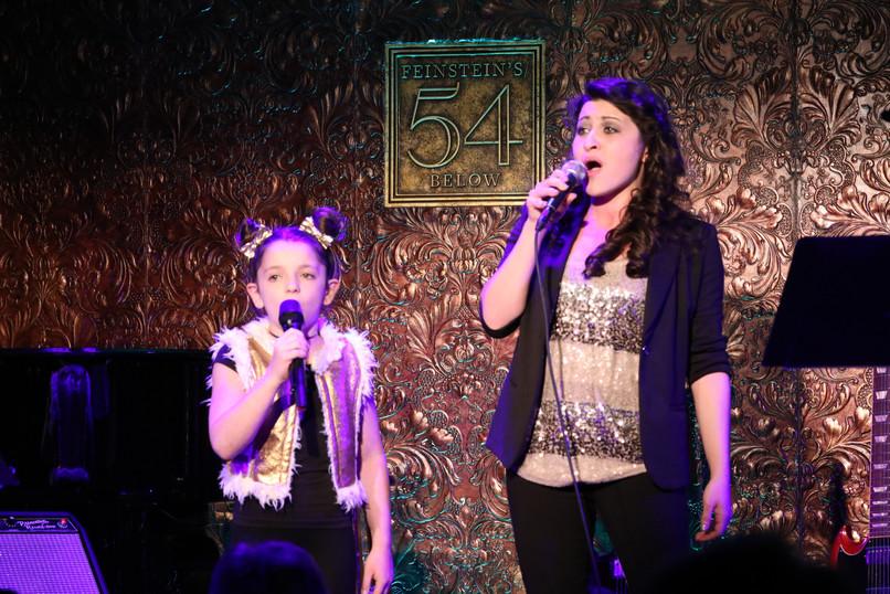 Sophie Knapp and Danielle Melanie Brown