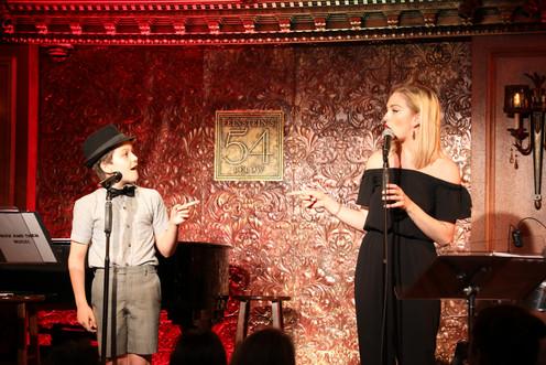 Hudson Loverro and Samantha Pollino