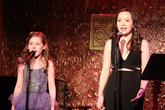 Audrey Bennett and Kara Oates