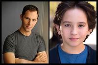 Jonathan Kaplan and Peyton Lusk