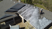 Greener Shingles Dealer Rejuvenating a Roof