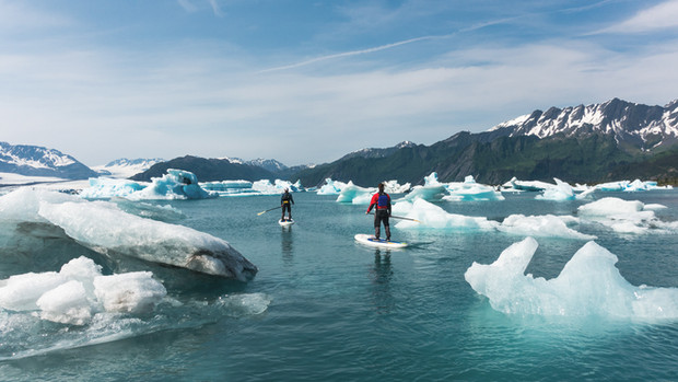 Exit Glacier, Kenai Fjords National Park, AK, USA, 2015.