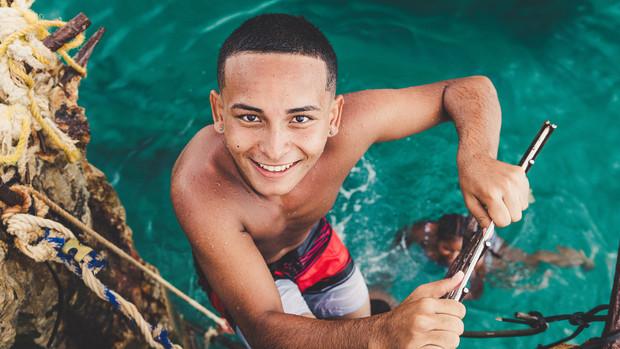 Crash Boat Beach, Puerto Rico, 2018.