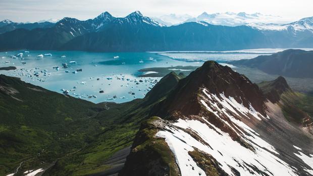 Bear Glacier, Kenai Fjords National Park, AK, 2015.