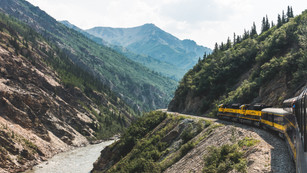 Alaska Railroad, AK, USA, 2015.