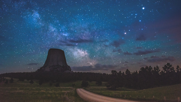 Devils Tower, WY, USA, 2015.