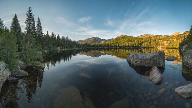 Bear Lake, Rocky Mountain National Park, CO, USA, 2015.