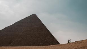 Pyramids of Giza, Egypt, 2015.