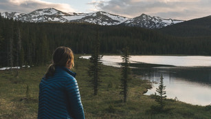 Stull Lake, Wyoming, USA, 2017.